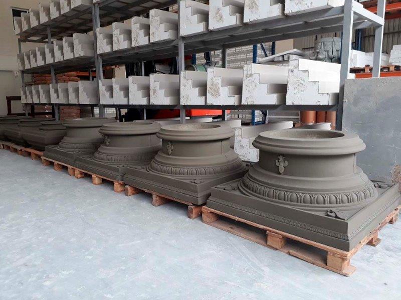 Fabrica de molduras de concreto