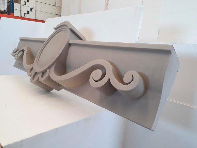 Molduras de concreto para fachada