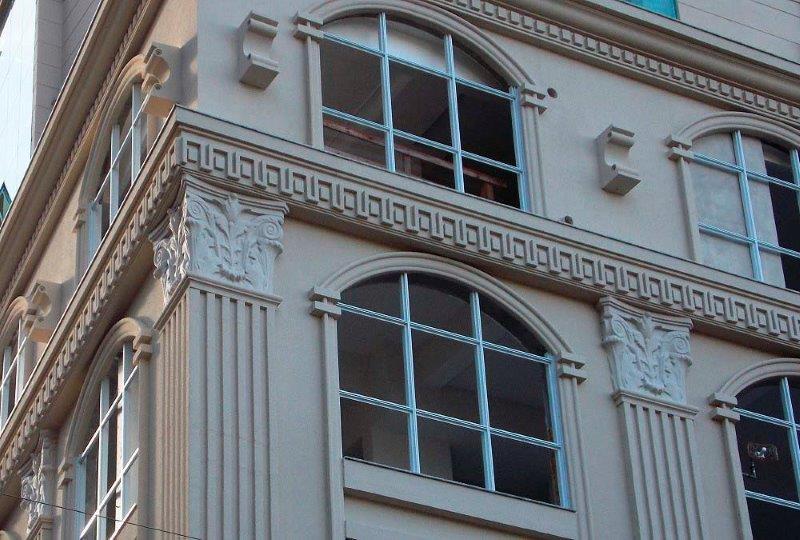 Molduras para fachadas em eps