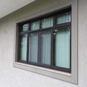 Moldura de isopor para janela externa